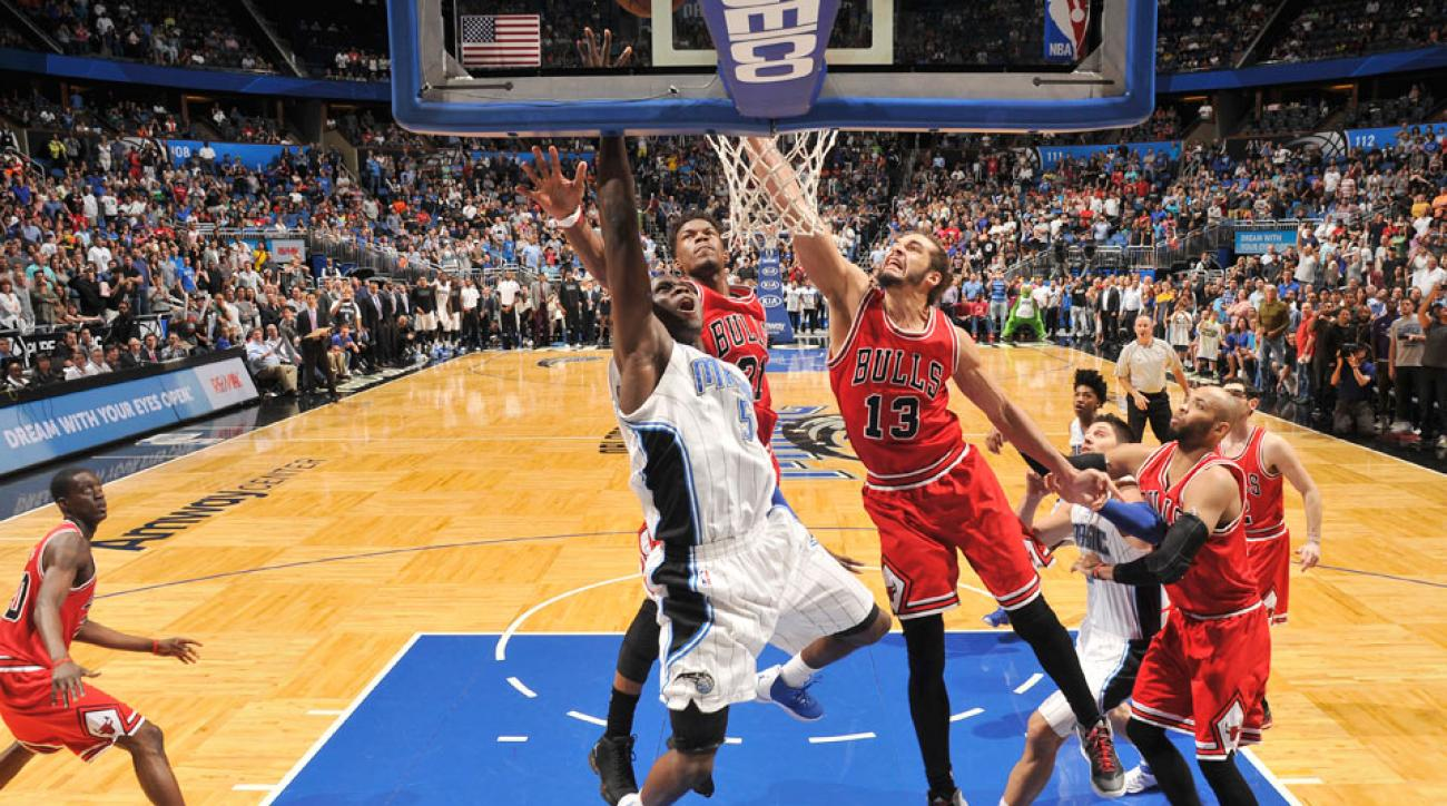 Victor Oladipo hit the game-winning layup to defeat Chicago in Derrick Rose's return.