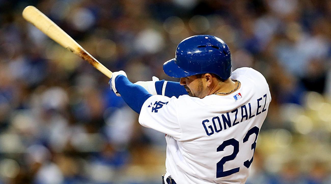 Adrian Gonzalez Dodgers