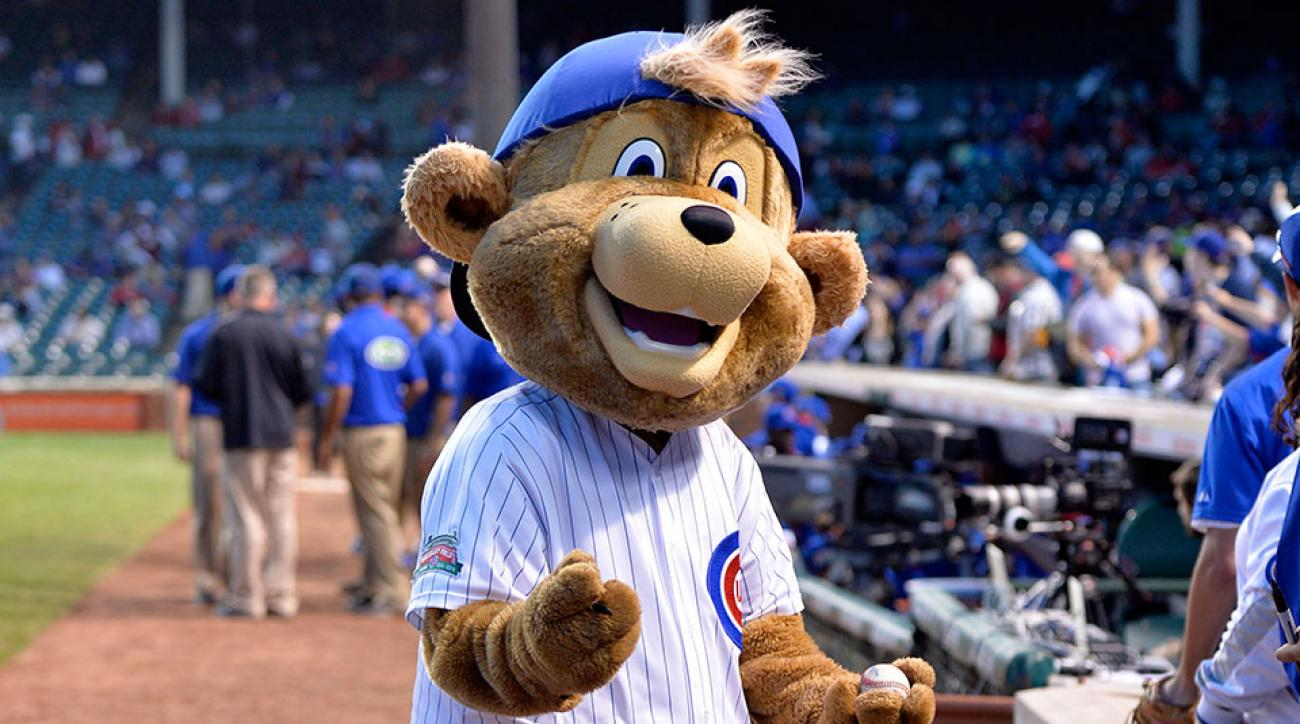 Chicago Cubs mascot Clark