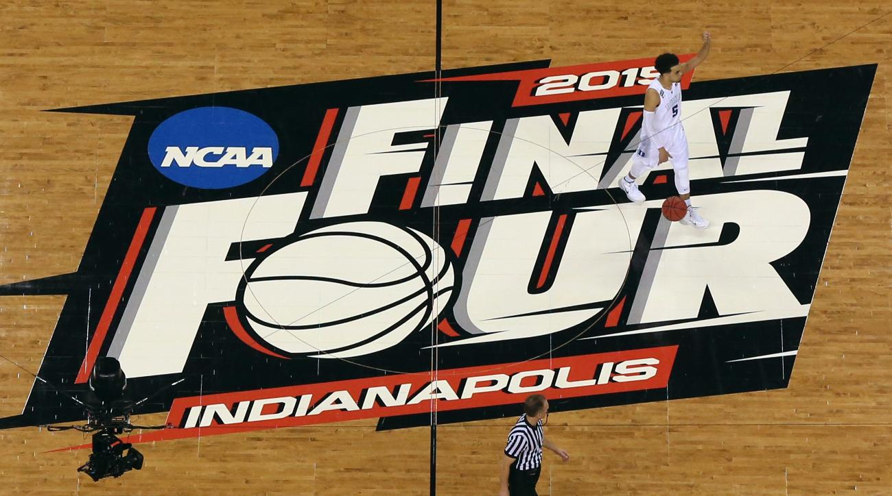 Duke buying and selling Final Four court