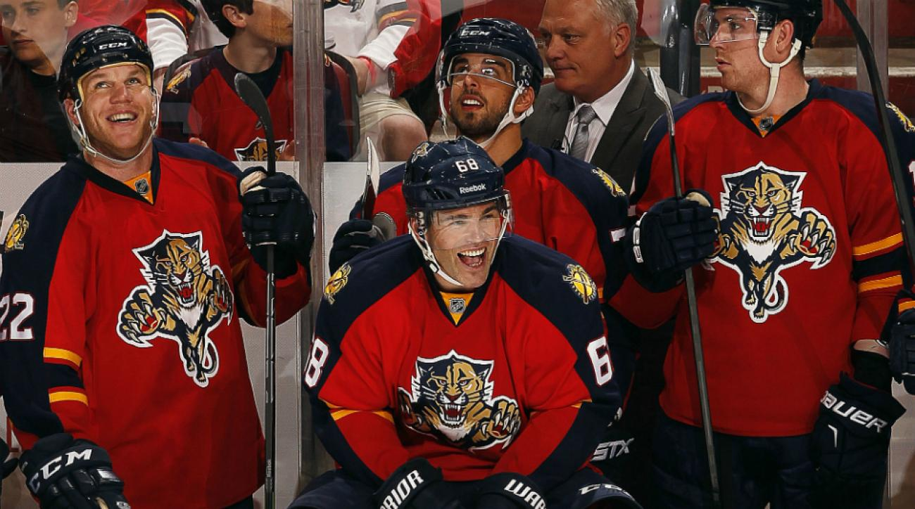 jaromir jagr 1800 points panthers bruins