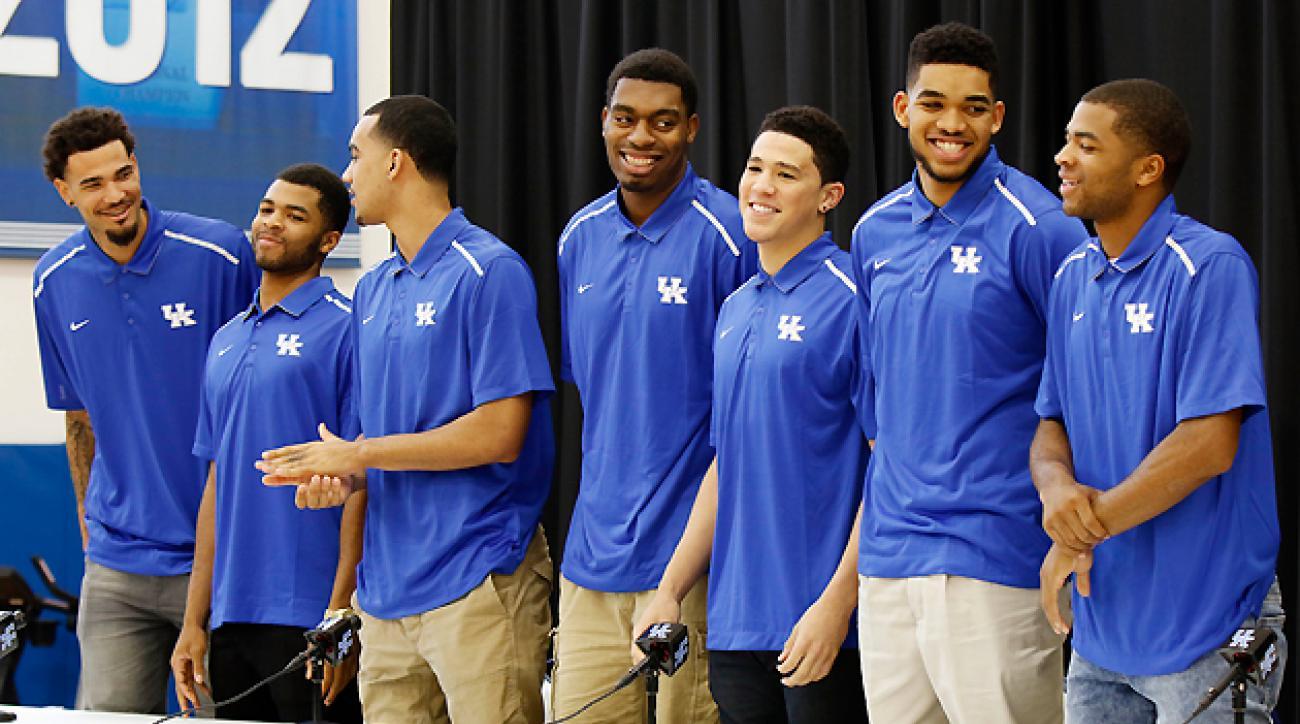Kentucky seven players declare NBA draft
