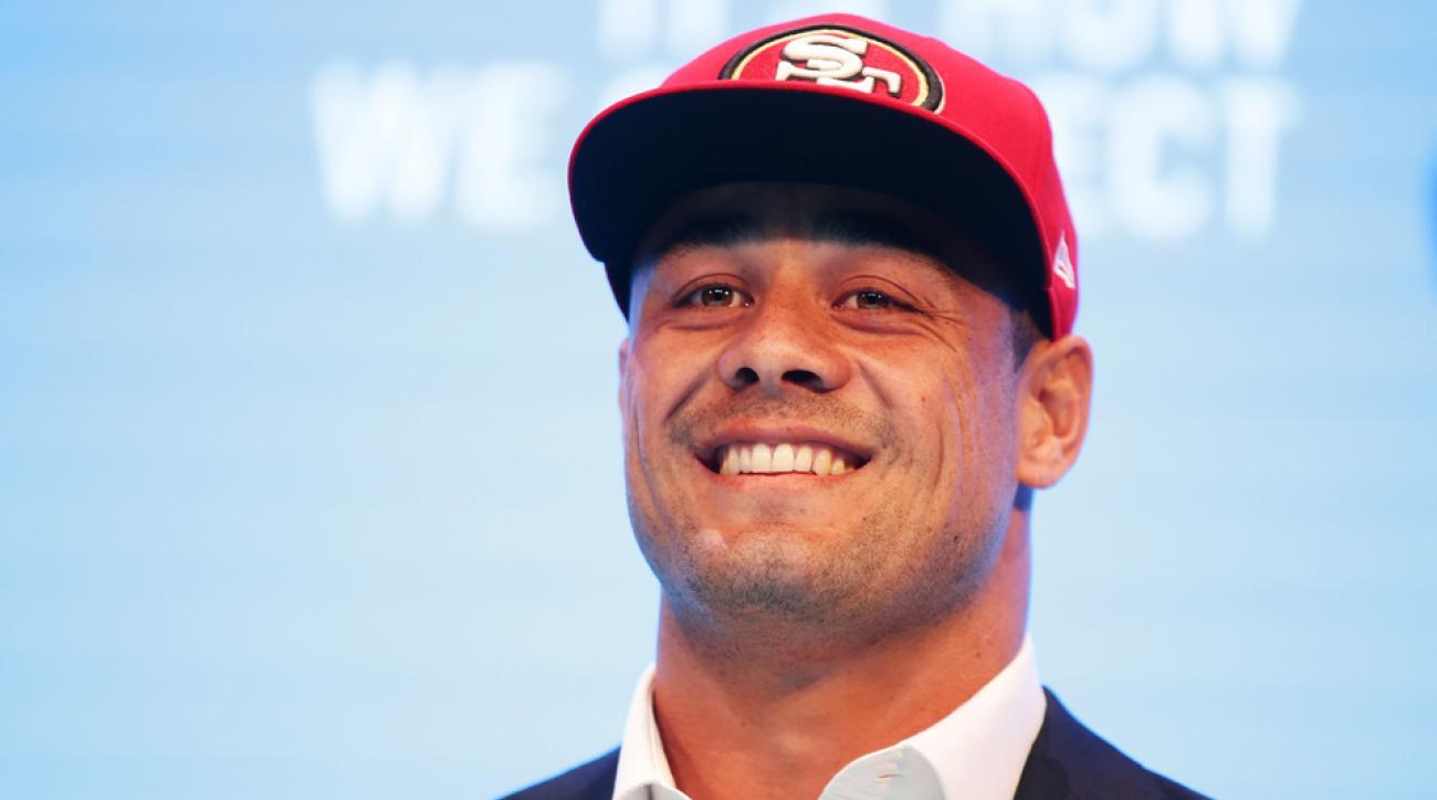 San Francisco 49ers Jarryd Hayne