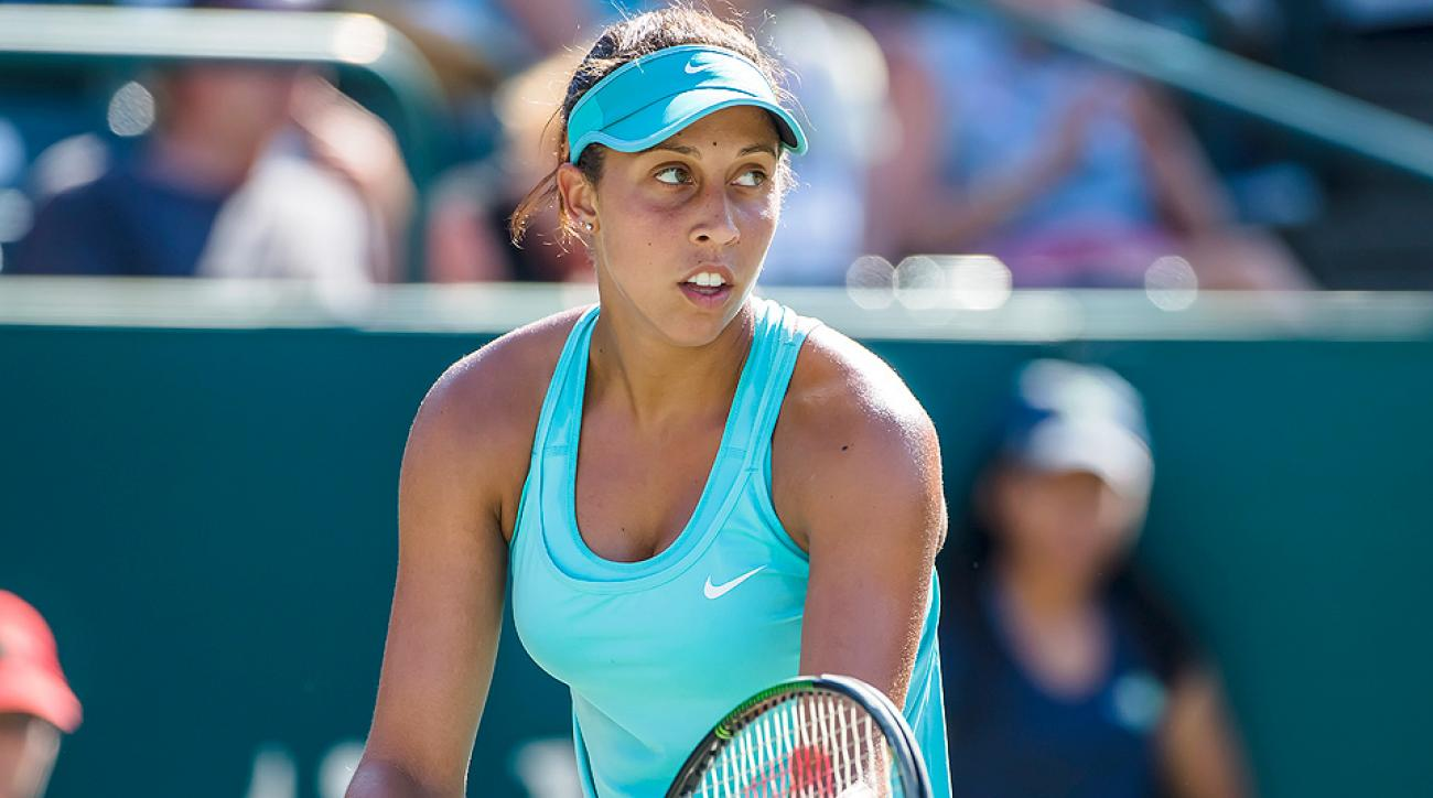 Madison Keys advanced to the semifinals of the Family Circle Cup in Charleston, S.C.