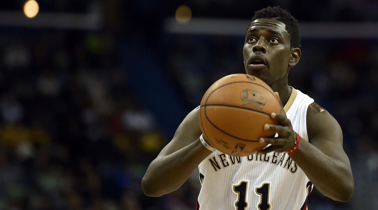 New Orleans Pelicans Jrue Holiday