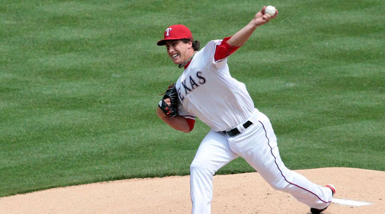 Texas Rangers Derek Holland