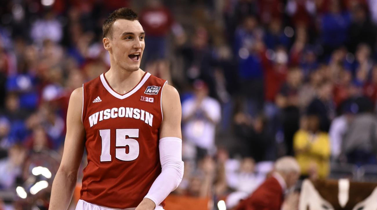 037d9f22823 Sam Dekker: Wisconsin forward to enter 2015 NBA Draft | SI.com