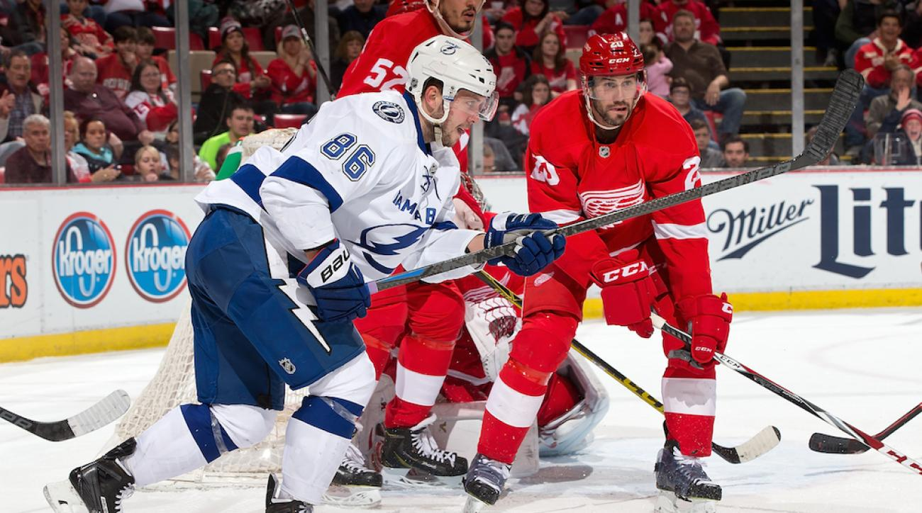 detroit red wings tampa bay lightning