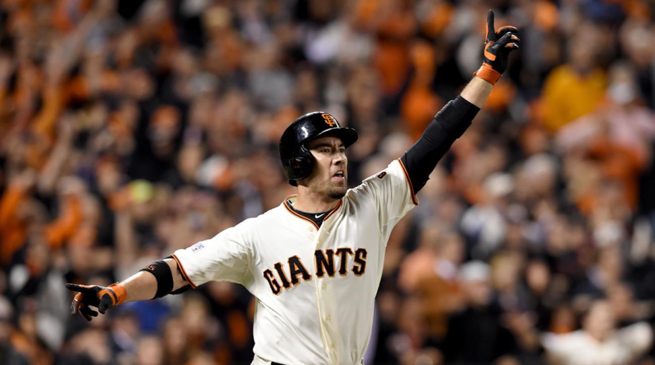San Francisco Giants Travis Ishikawa