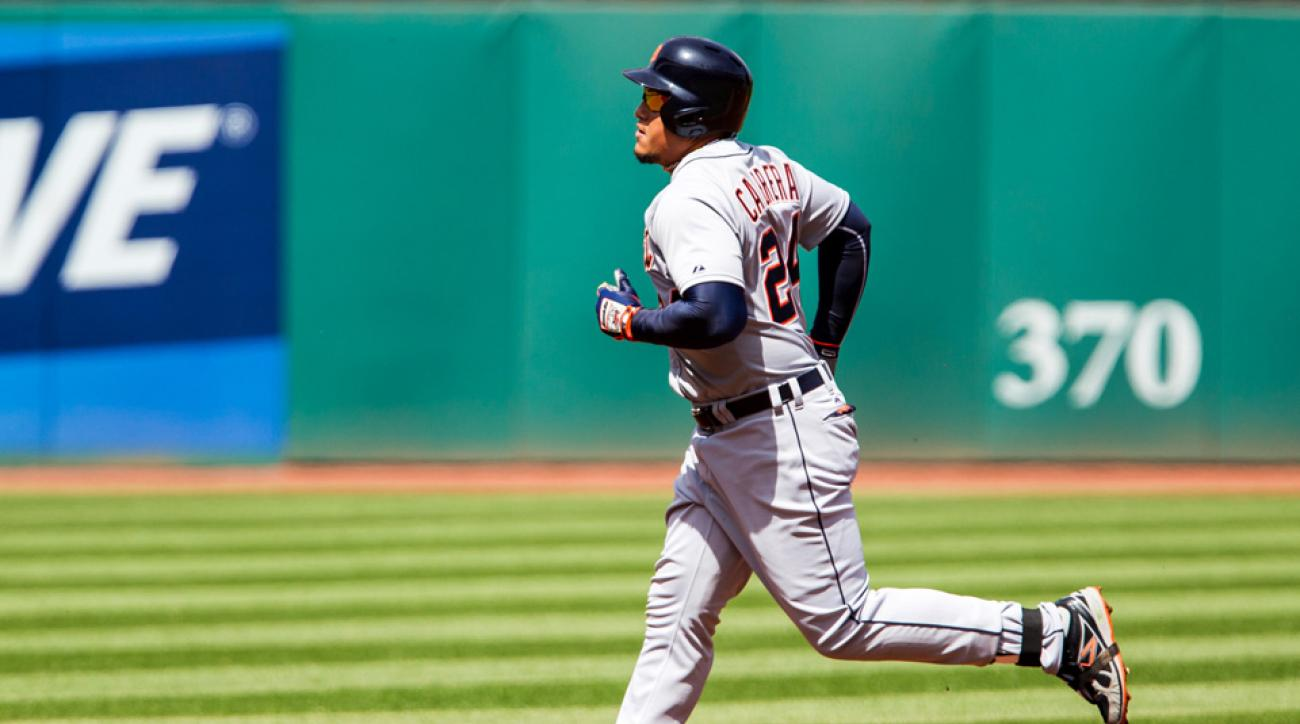 Cabrera homers twice, Tigers beat Indians