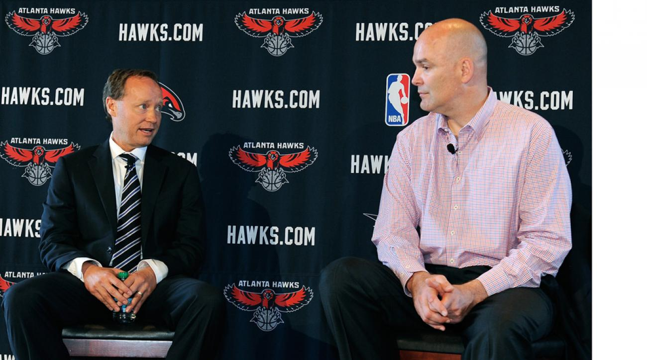 Hawks coach: GM responsible for roster