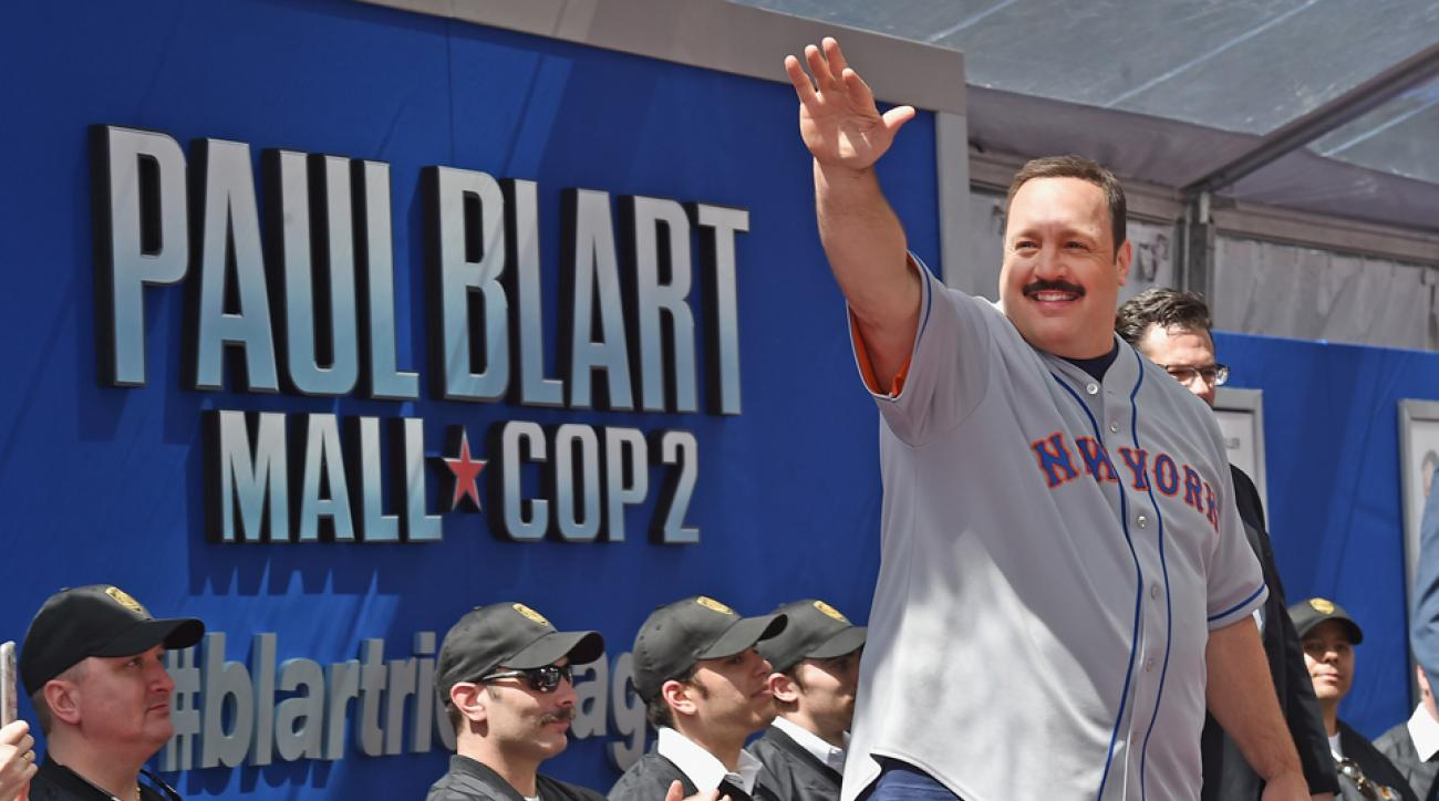New York Mets Kevin James Mall Cop