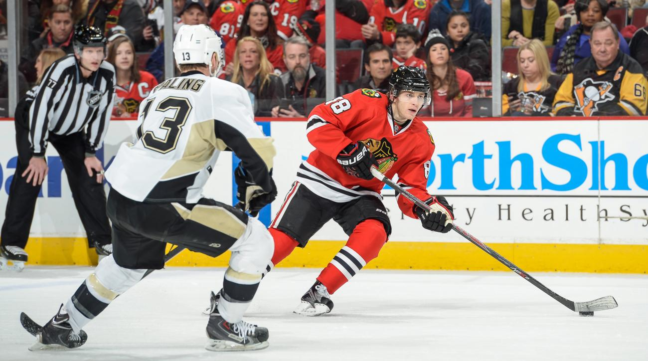 Patrick Kane blackhawks return Game 1