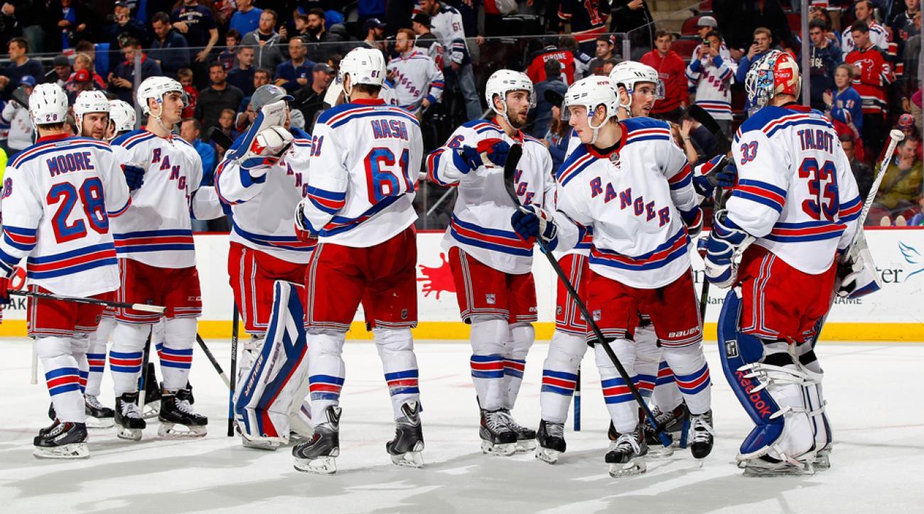 New York Rangers Stanley Cup Playoffs 2015