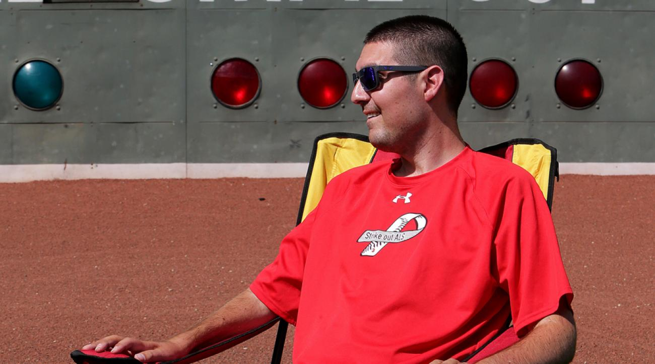 Boston Red Sox Pete Frates
