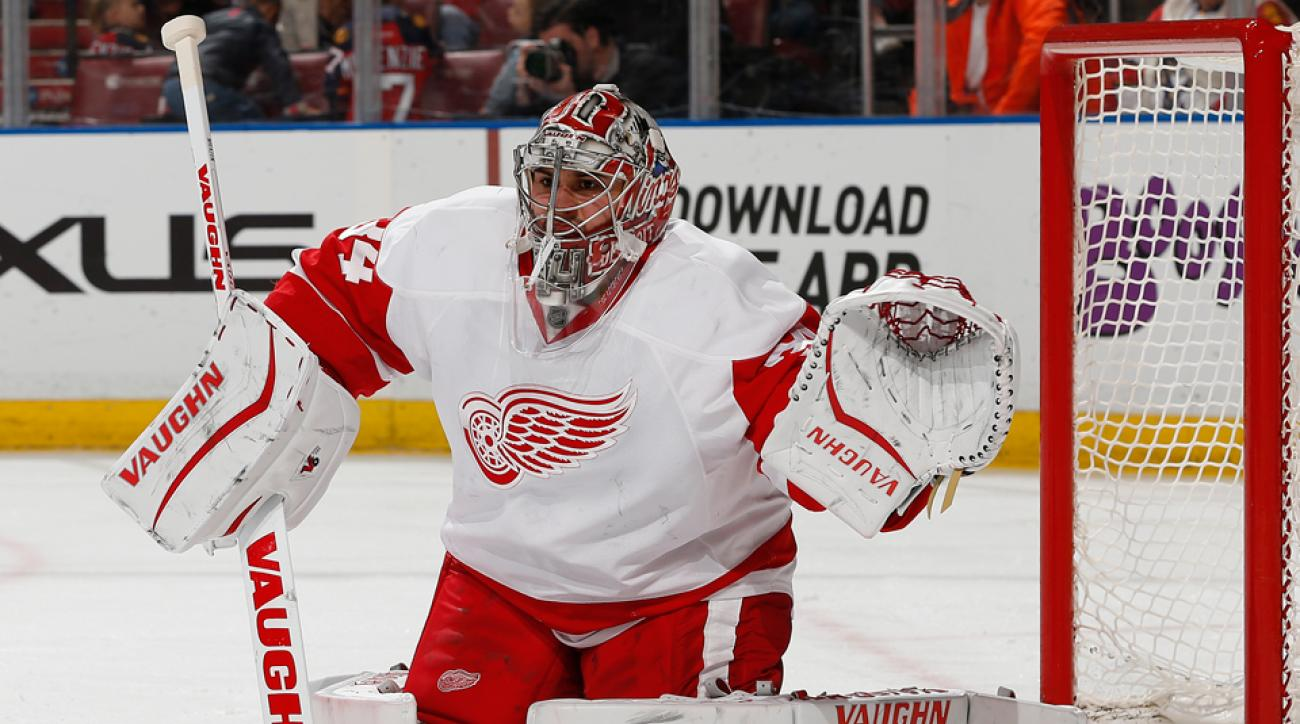 Detroit Red Wings Petr Mrazek