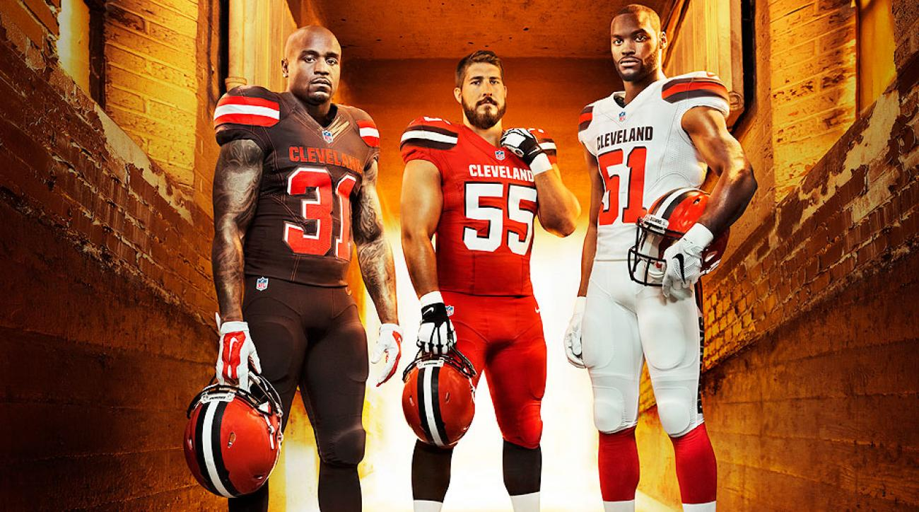 sports shoes 992fb 38068 Cleveland Browns new uniforms revealed | SI.com