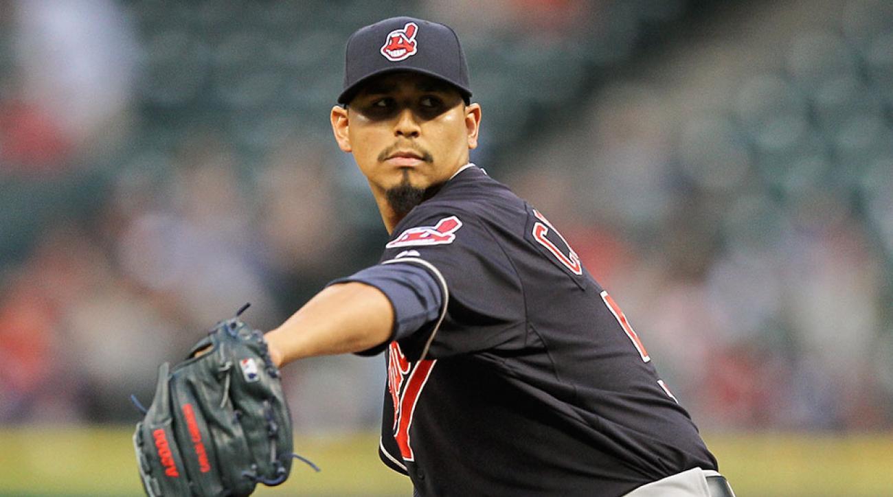 Cleveland Indians Carlos Carrasco