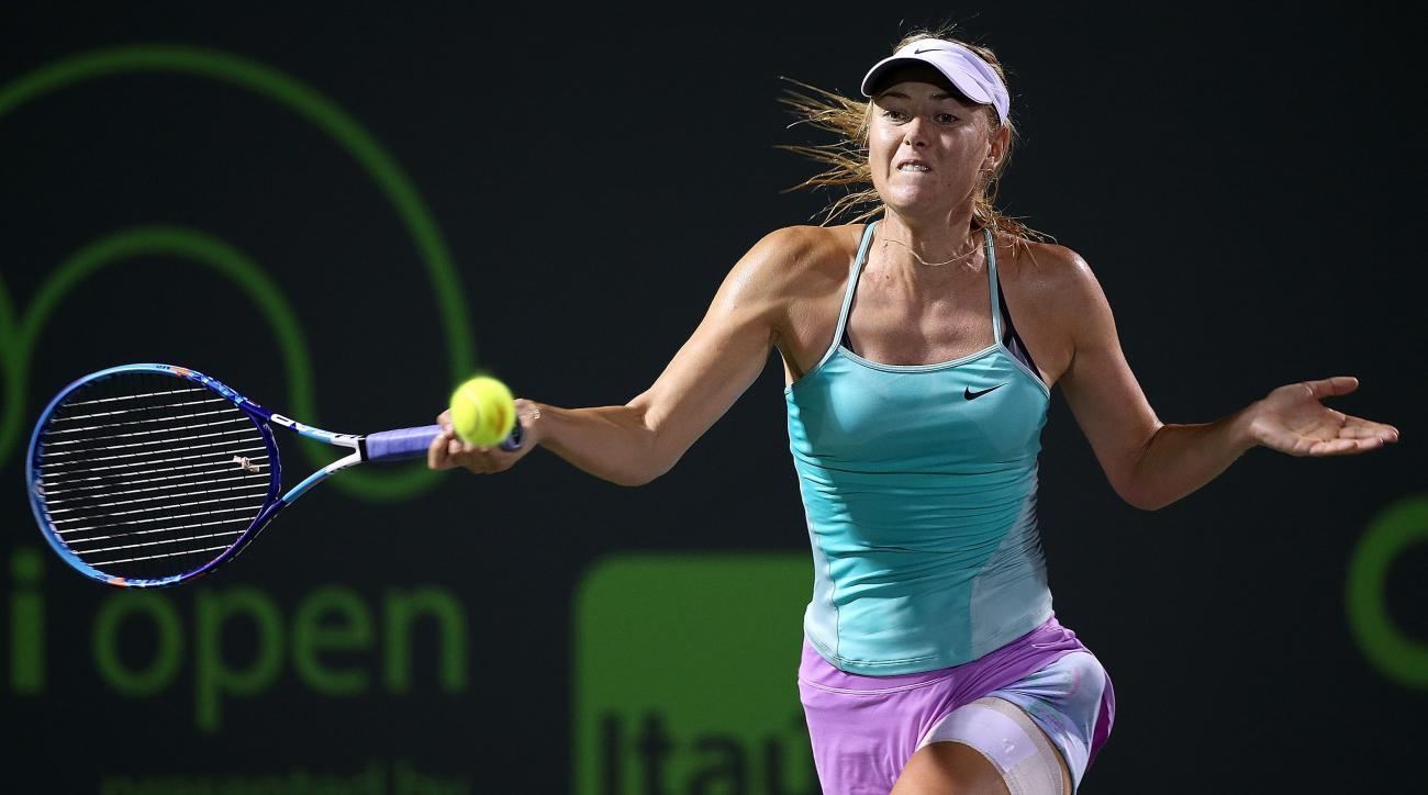 Maria Sharapova injury withdraws