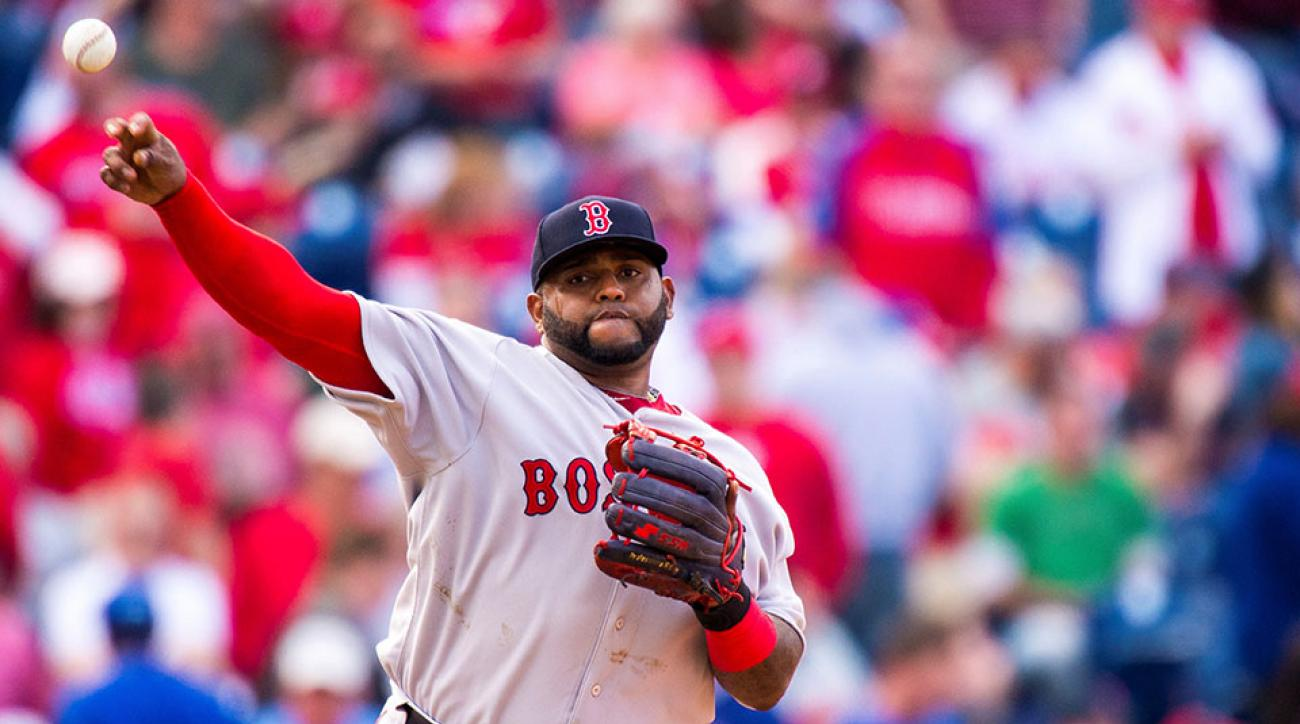 Boston Red Sox Pablo Sandoval