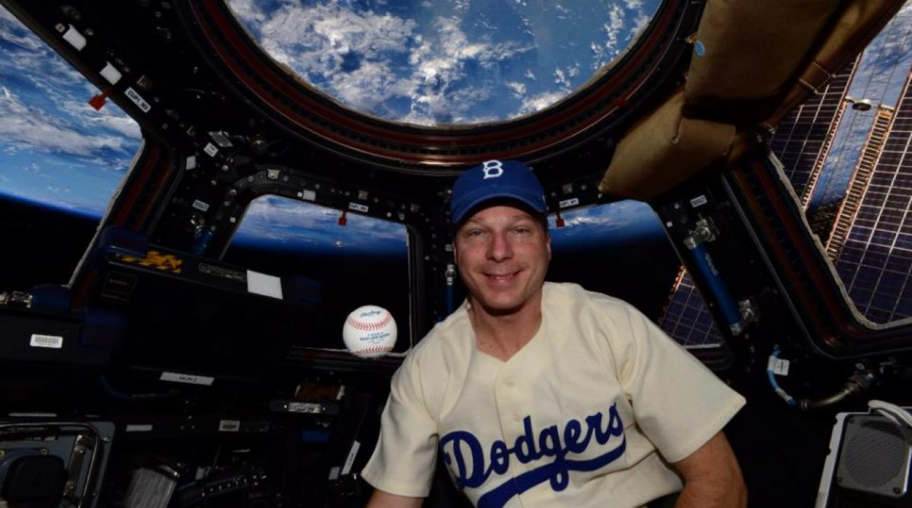Jackie Robinson Day celebrated in outer space