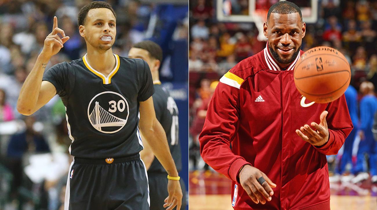 Stephen Curry and LeBron James headline the 2015 NBA playoffs.