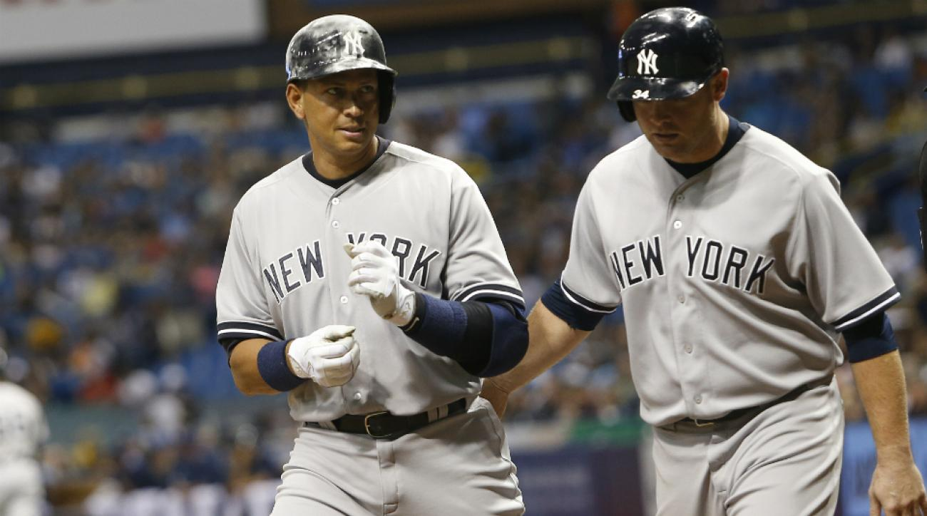 Alex Rodriguez's resurgent year continues with monster night vs. Rays