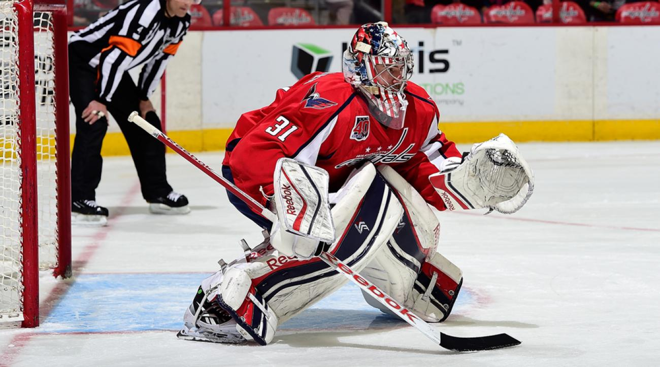 Washington Capitals Philipp Grubauer