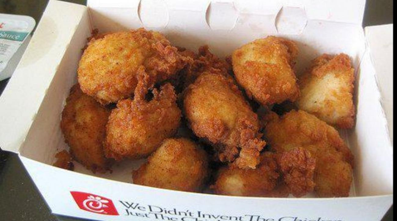 Chick-fil-a giving away free nuggets to hawks fans