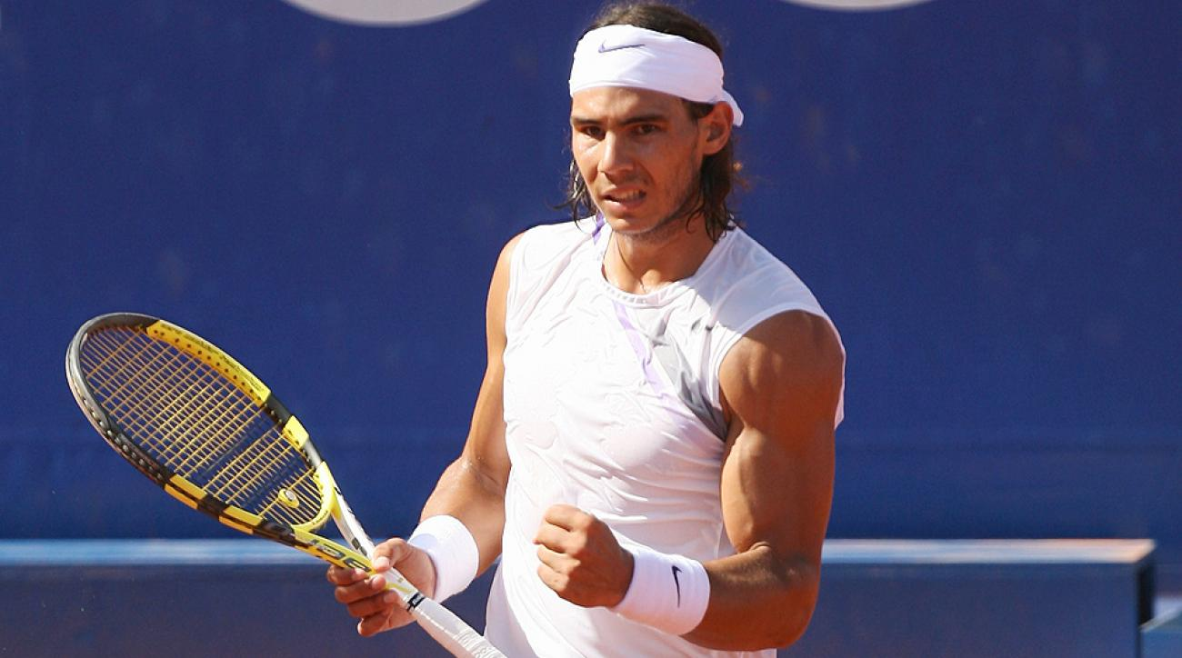 Rafael Nadal, pictured in 2007, will attempt to win the Mercedes Cup for a third time in his career.