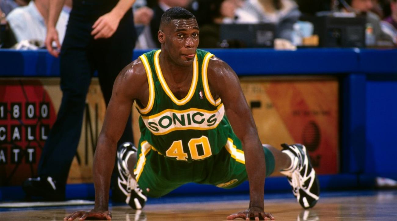 Shawn Kemp co-hosted a Thunder non playoff party