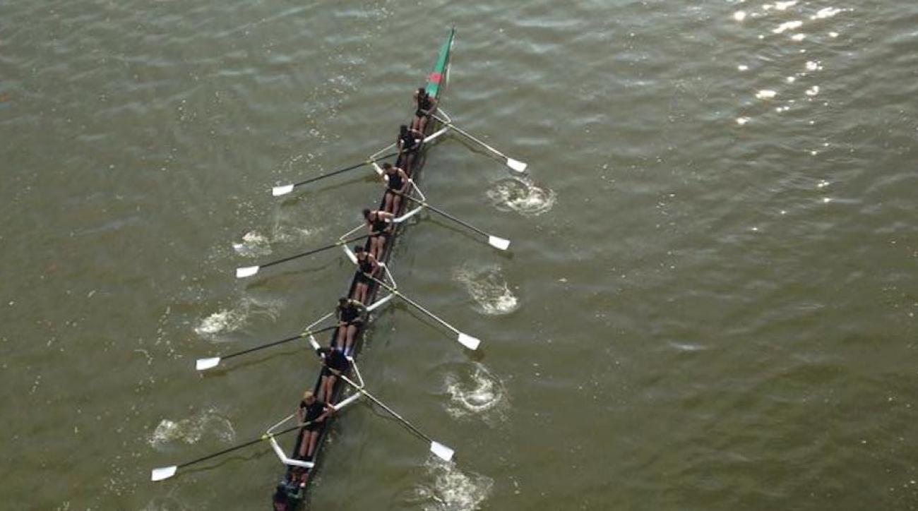 washington university carp attack boat rower