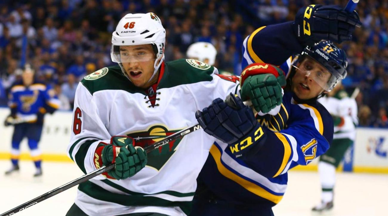 wild blues nhl playoffs western conference