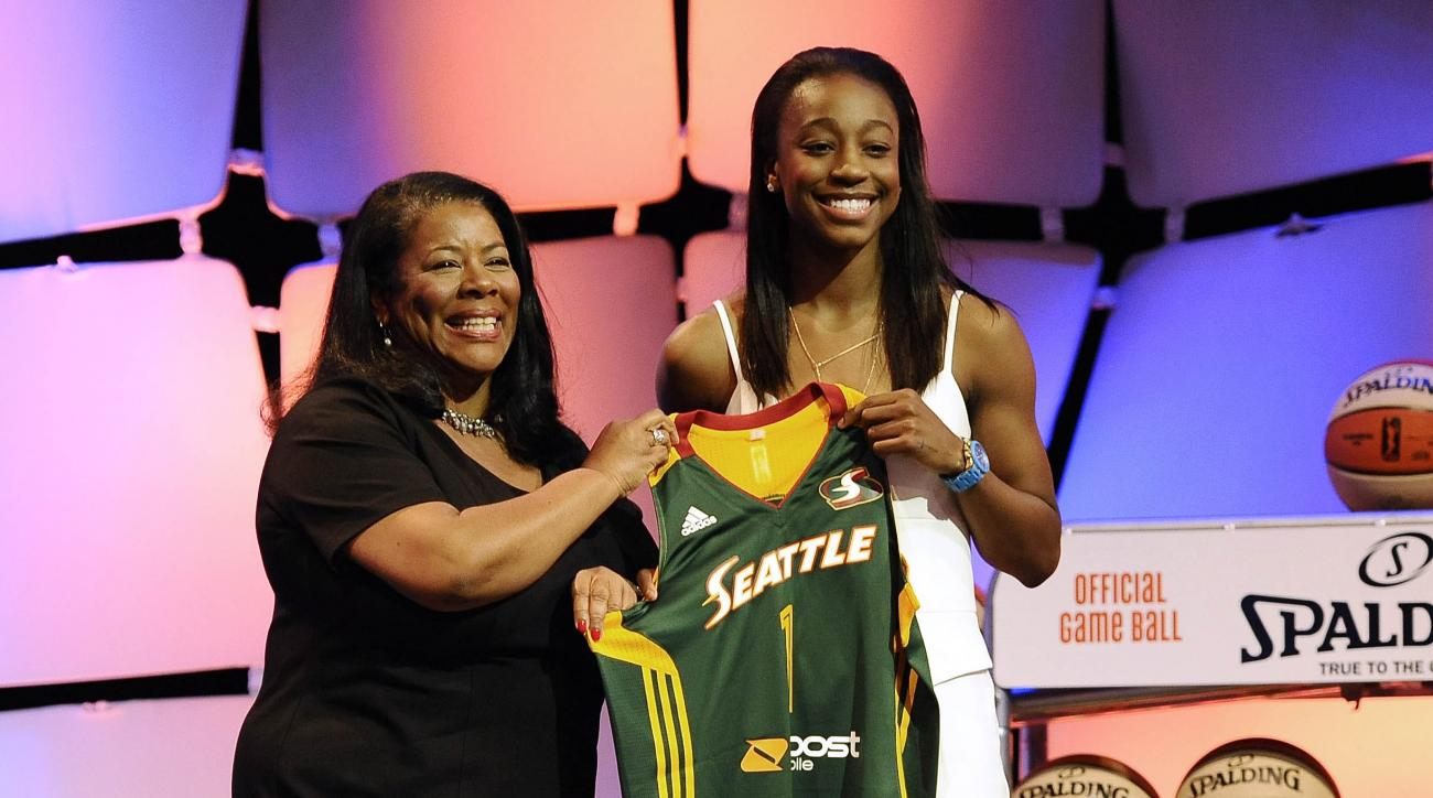WNBA draft Jewell Loyd
