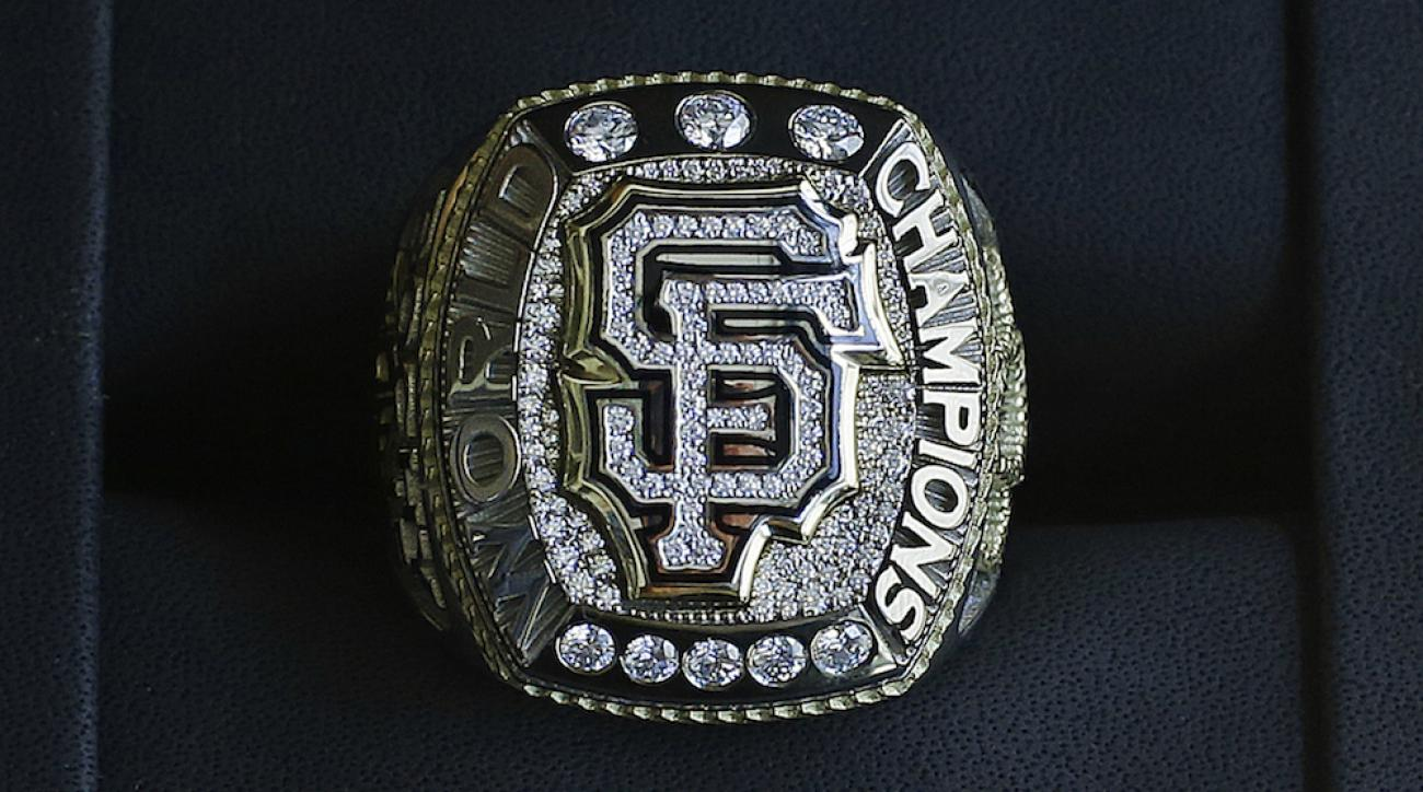 san francisco giants world series rings