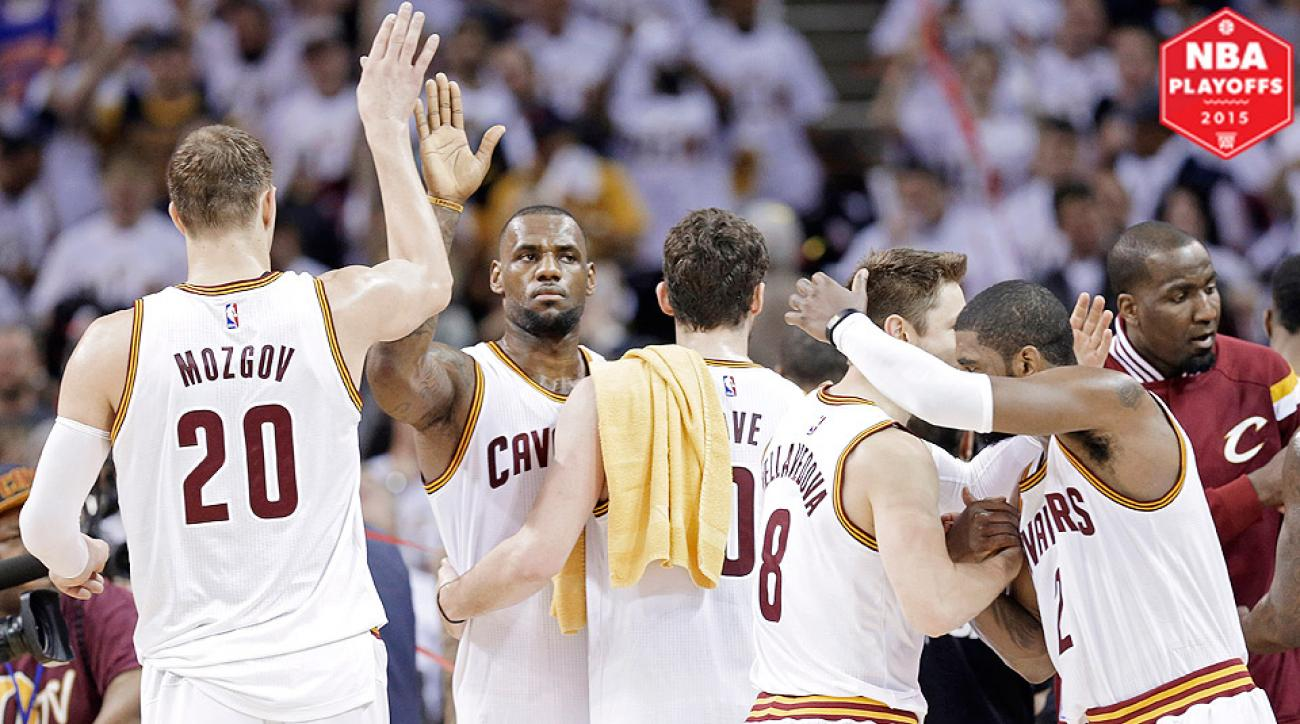 """The Cavaliers """"Big Three"""" scored 69 points in a Game 1 win over the Celtics."""