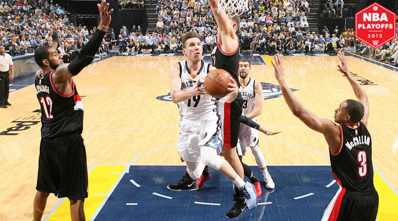 Beno Udrih sparks Grizzlies' Game 1 win as Blazers fall victim to ...