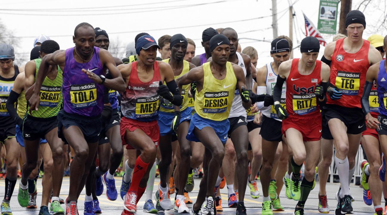 2015 Boston Marathon livestream