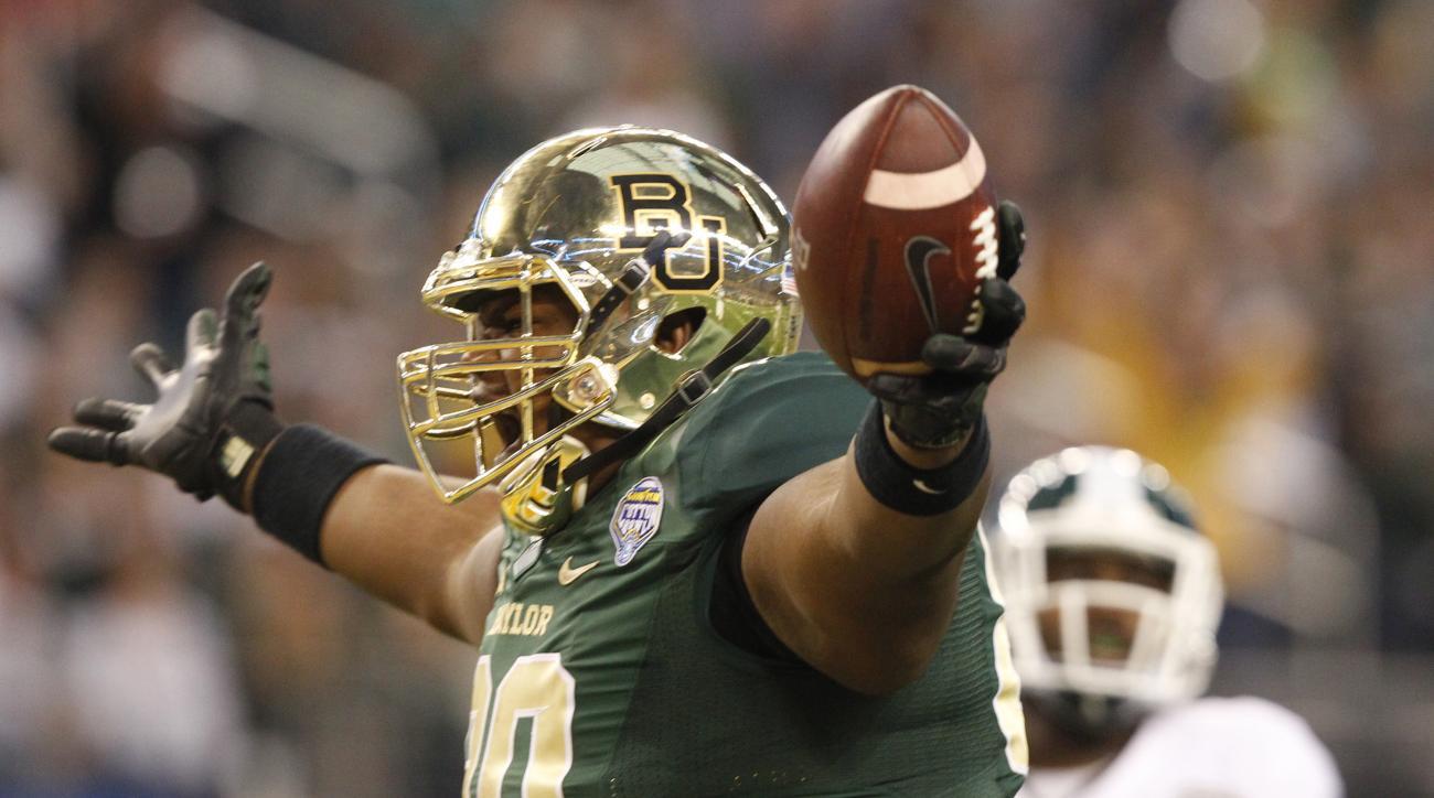 laquan mcgowan baylor touchdown cotton bowl