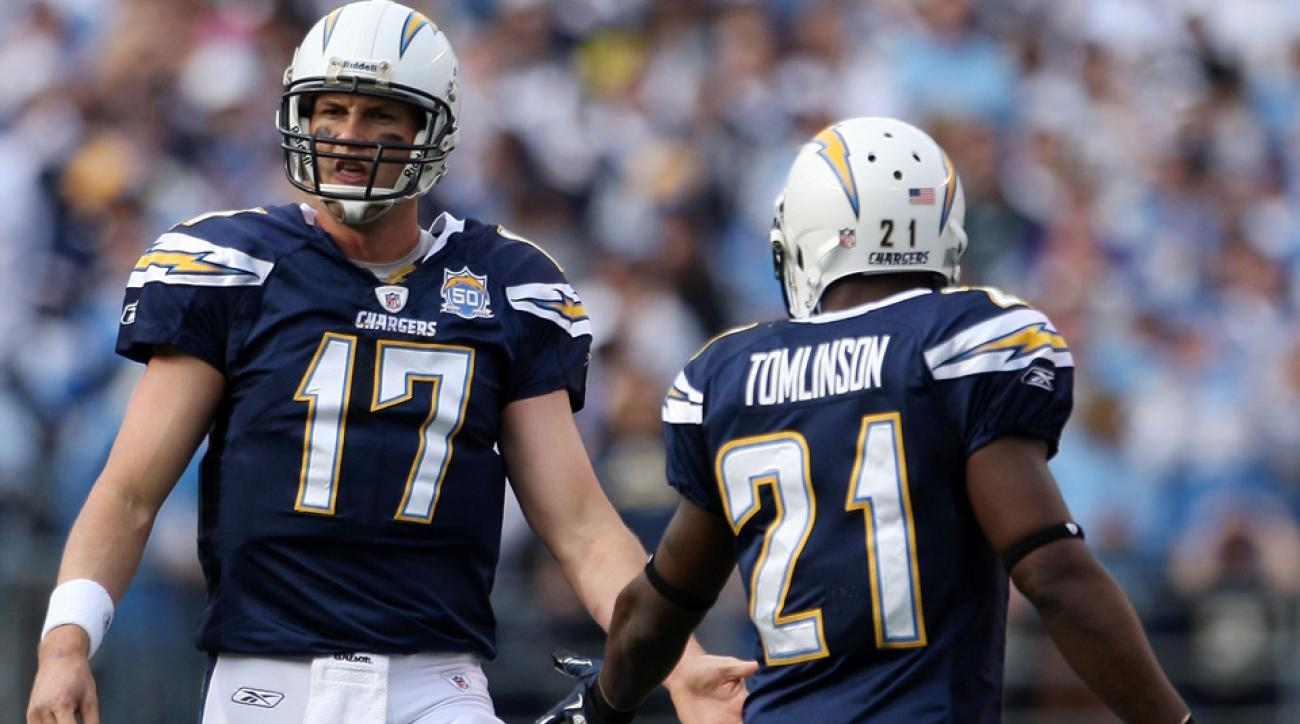Philip Rivers won't be the San Diego Chargers' starting quarterback in 2015, LaDainian Tomlinson thinks.