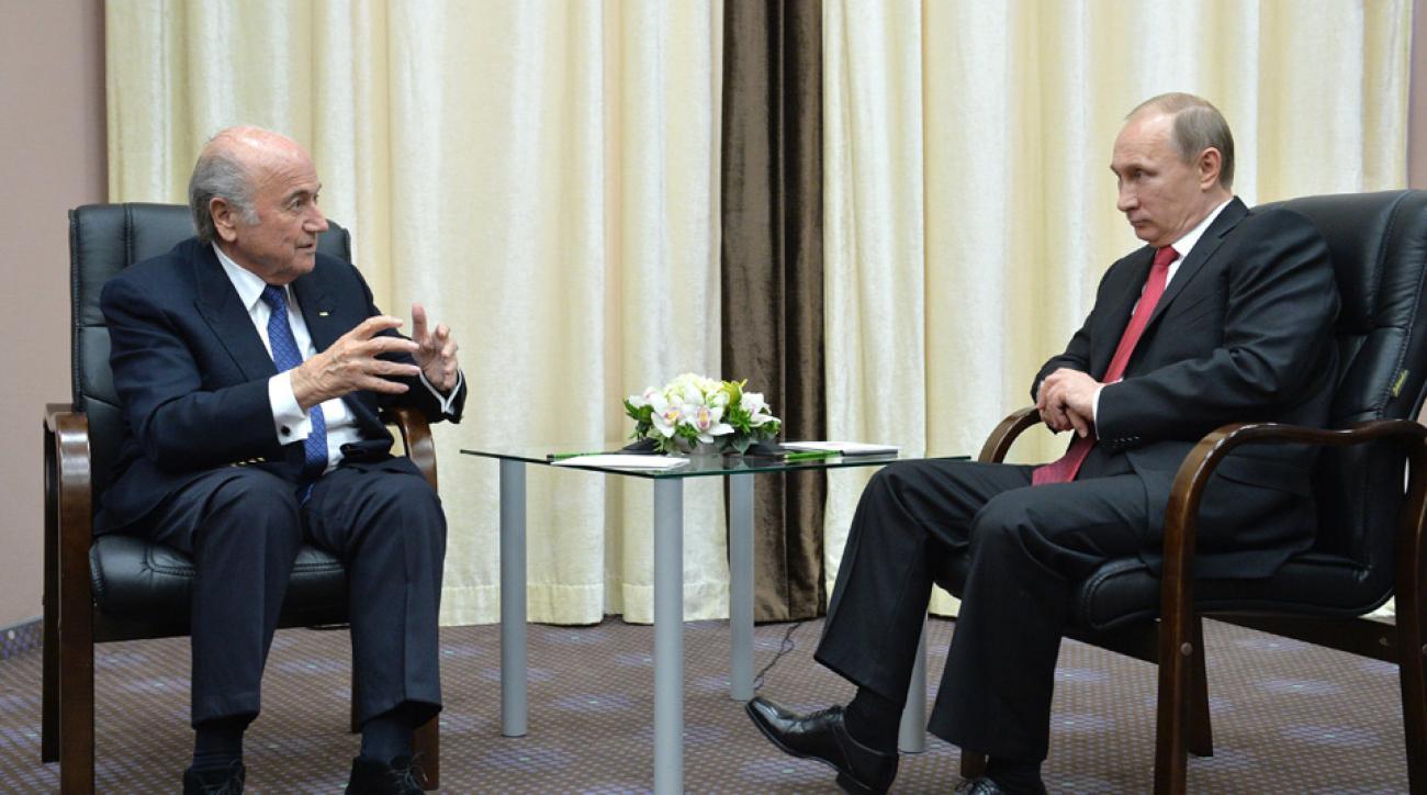 Sepp Blatter rips 2018 World Cup critics