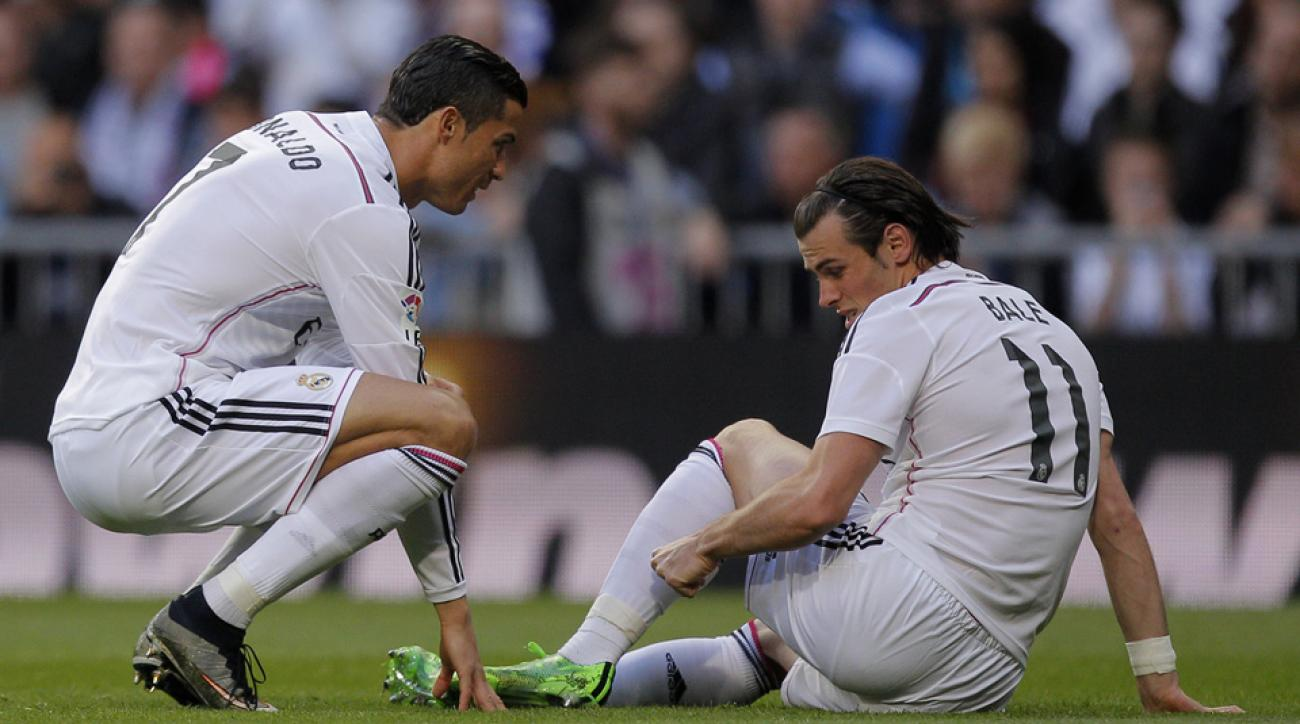 Bale injures calf, doubtful vs. Athletico