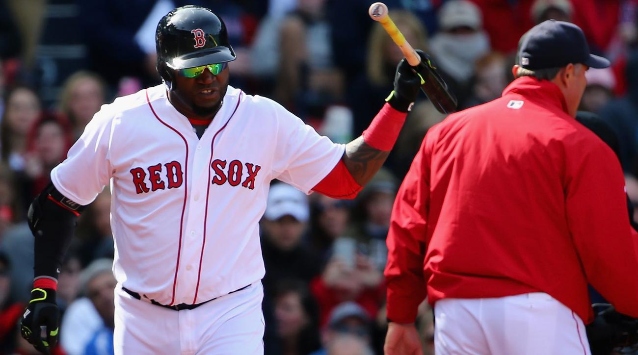 boston red sox david ortiz suspension umpire
