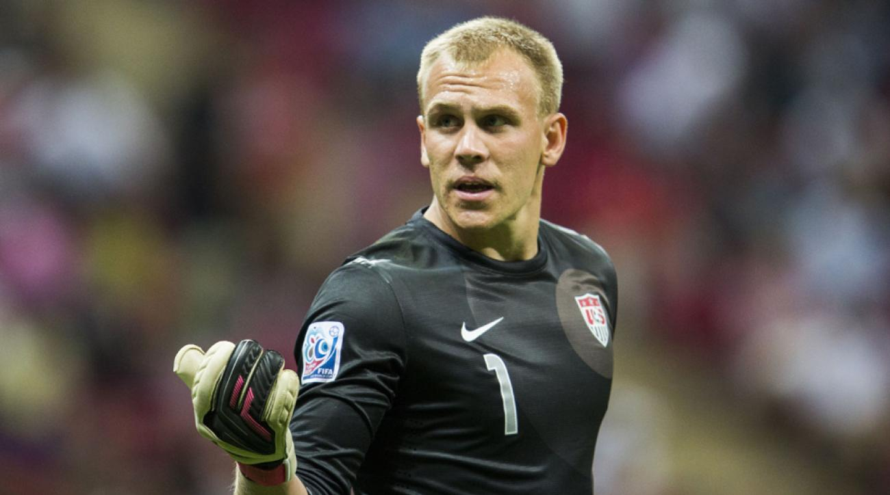 U.S. Under-23 goalkeeper Cody Cropper should be in net against Mexico during Wednesday's friendly in California.