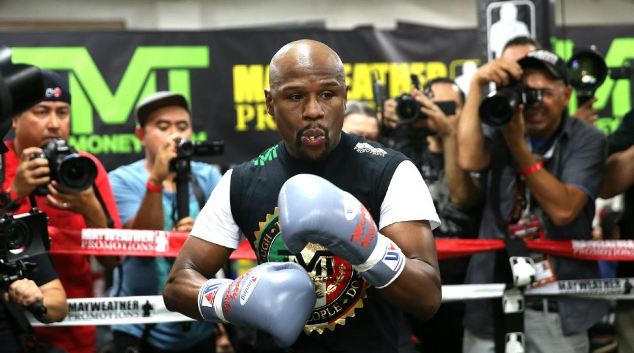 A look inside Floyd Mayweather's training camp