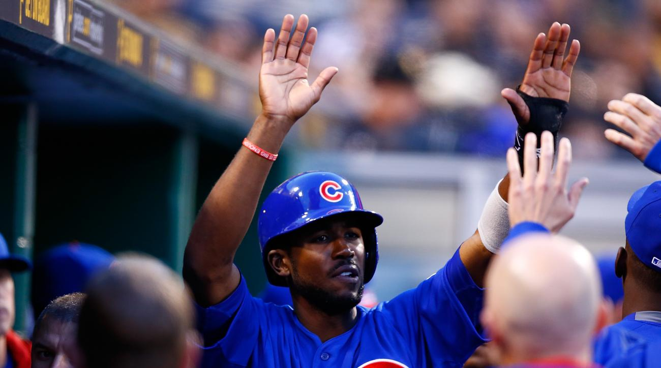 Dexter Fowler left Wednesday night's Cubs game with right groin tightness