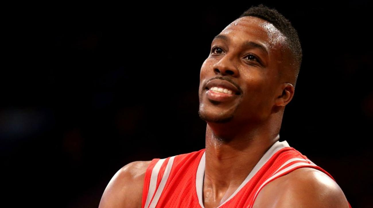 Dwight Howard has a large collection of snakes and guns