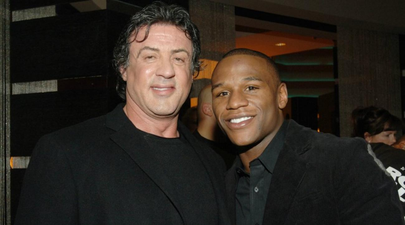 Mayweather vs pacquiao: Sylvester Stallone and Larry merchant choose sides