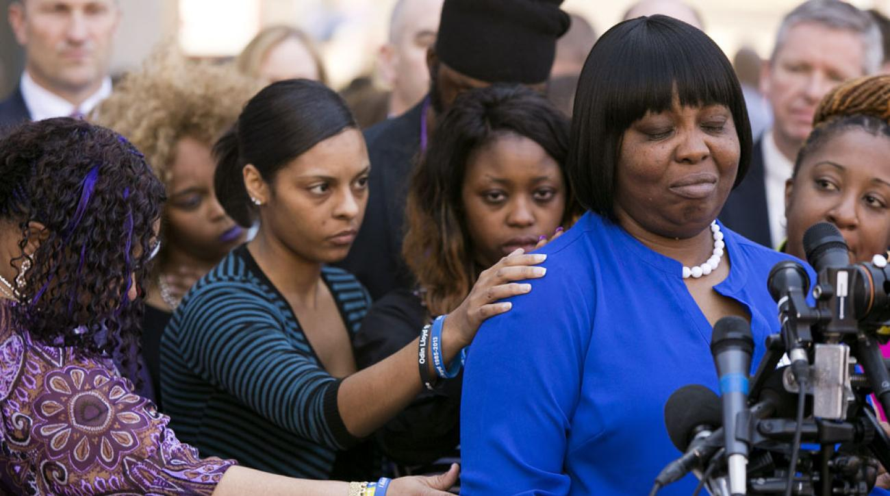 Odin Lloyd's mother re-files lawsuit against Aaron ...
