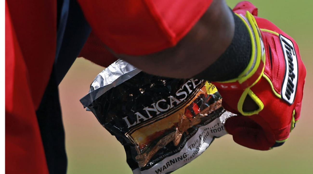 San Francisco to ban chewing tobacco from ballparks